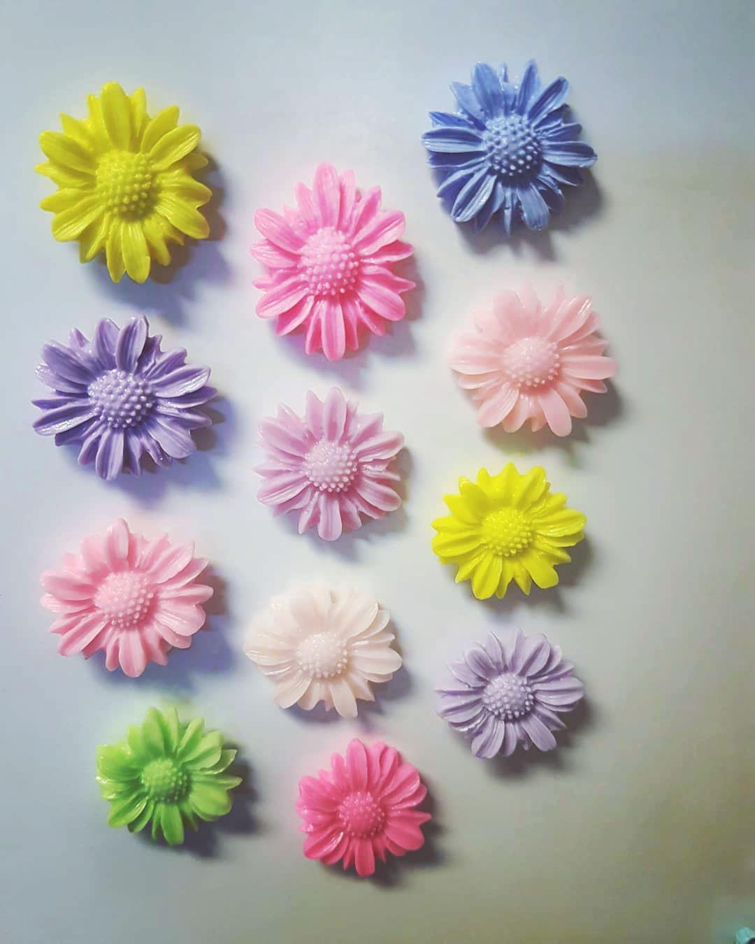 Blommiga magneter